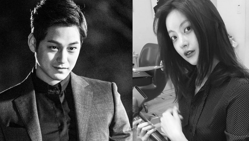 South Korean celebrity couple Kim Bum and Oh Yeon-seo