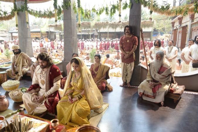 First Look - Chiranjeevi, Nayanthara's in Sye Raa Narasimha Reddy