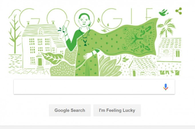 Google Doodle Celebrates 153rd Birth Anniversary Of Anandi Joshi