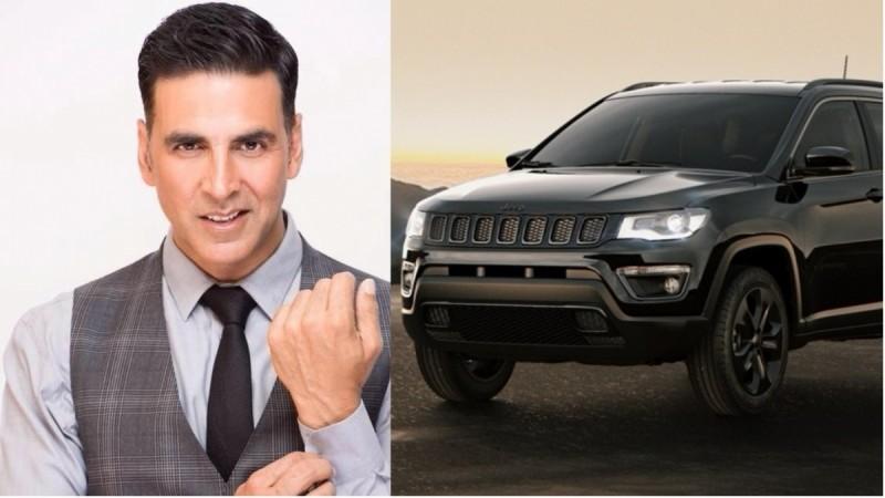 Akshay Kumar buys Jeep Compass