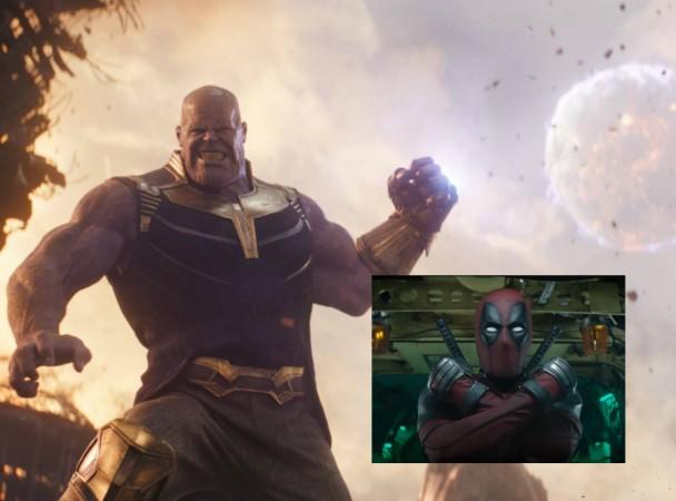 Deadpool 2, Avengers infinity war, thanos