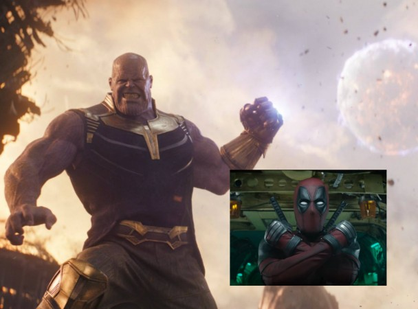 Deadpool 2, Avengers infinity war, thanos
