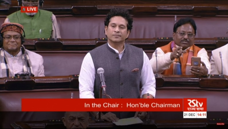 Sachin Tendulkar donates his entire Rajya Sabha salary to PM's Relief Fund