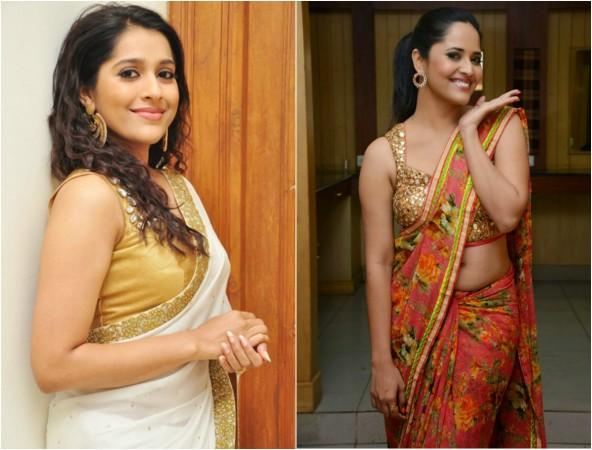 Rashmi Gautam and Anasuya Bharadwaj