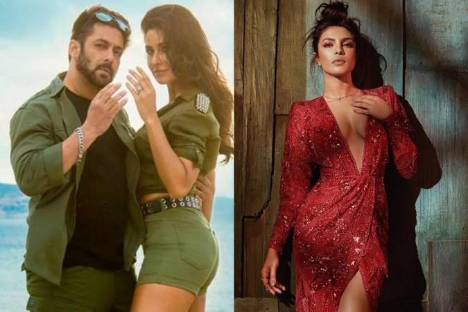 Salman Khan, Katrina Kaif, Priyanka Chopra