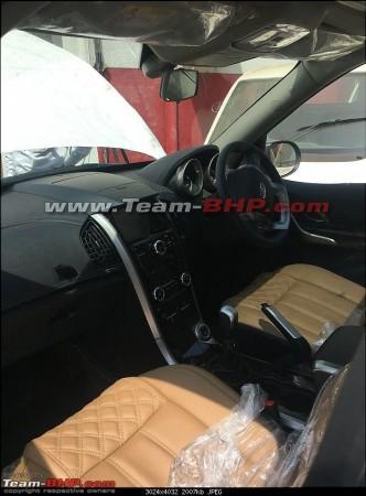 2018 Mahindra XUV500, 2018 Mahindra XUV500 interiors