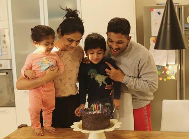 Allu Arjun's son Ayaan birthday