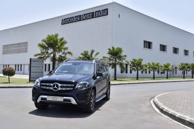 Mercedes-Benz launches SUV GLS at INR 86.9 lakh