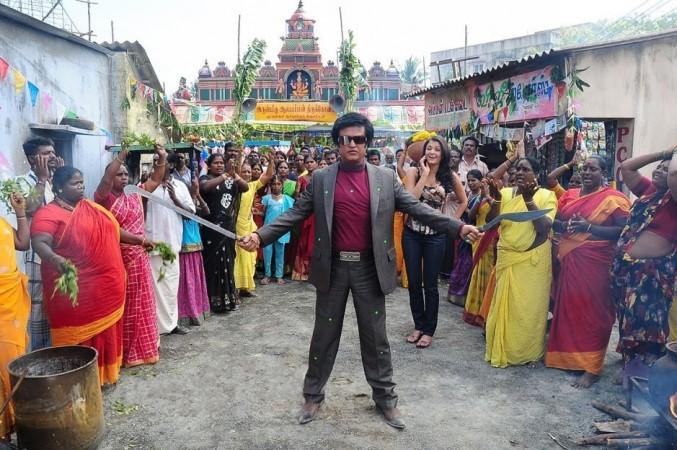 Rajinikanth and Aishwarya Rai in Enthiran