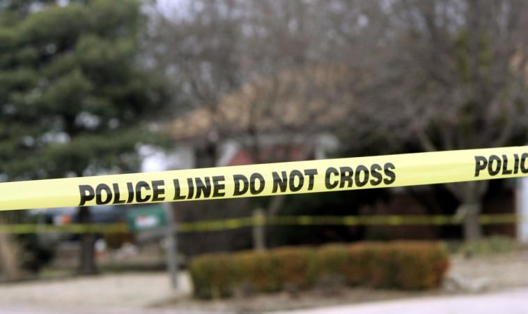 Crime scene murder