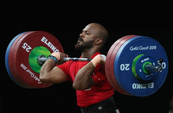 Weightlifter Sathish claims third gold for India