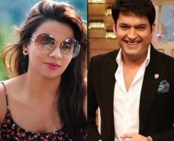 Preeti Simoes and Kapil Sharma