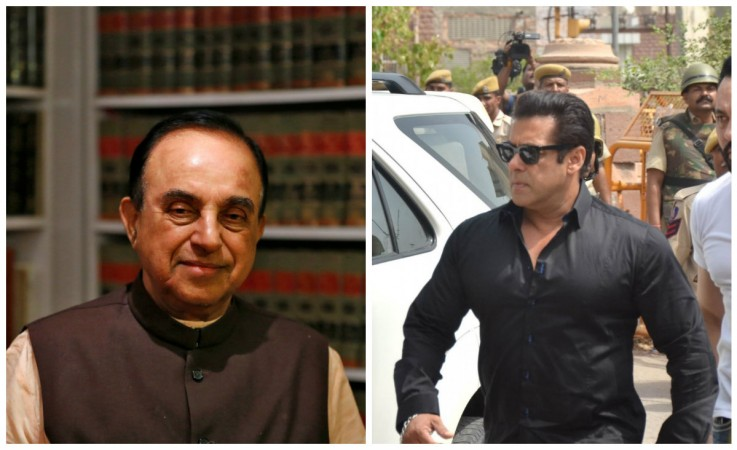 Subramanian Swamy reacts to actresses supporting Salman Khan in blackbuck poaching case