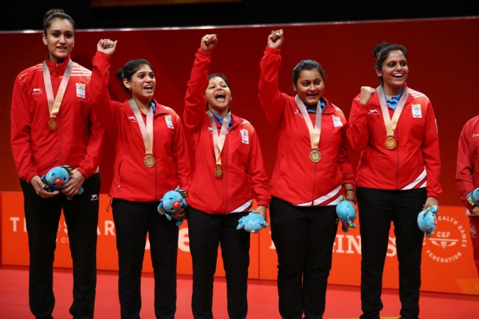 Indian women table tennis team