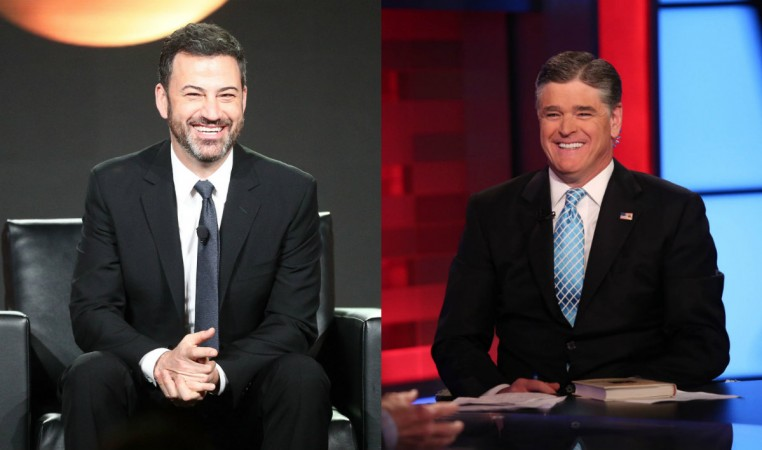 Jimmy Kimmel, Sean Hannity