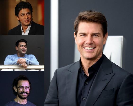 Tom Cruise, Shah Rukh, Aamir Khan, Salman Khan