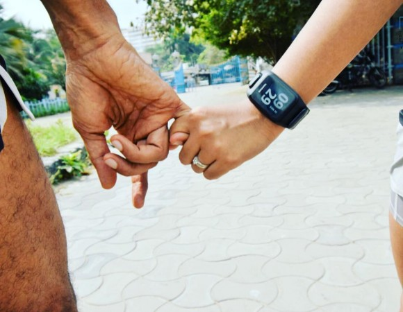 Milind Soman, Girlfriend Ankita Konwar