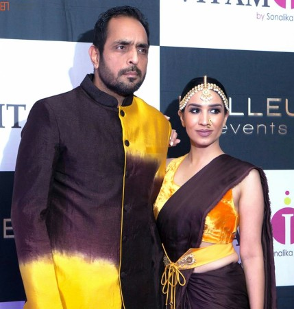 Vishwajeet Pradhan and wife Sonalika Pradhan