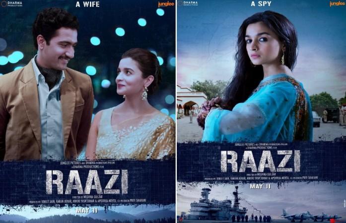 Raazi trailer