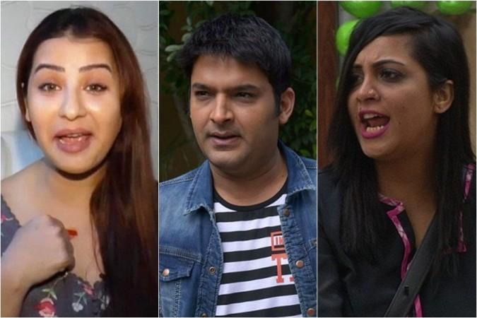 Shilpa Shinde, Kapil Sharma, Arshi Khan