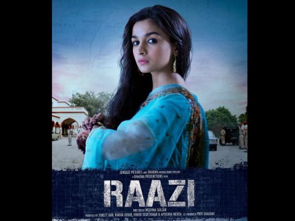 Alia Bhatt look in Raazi