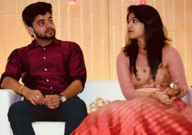 Sheril Kadavan's engagement