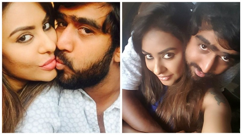 Sri Reddy reveals private chat between her and Abhiram Daggubati