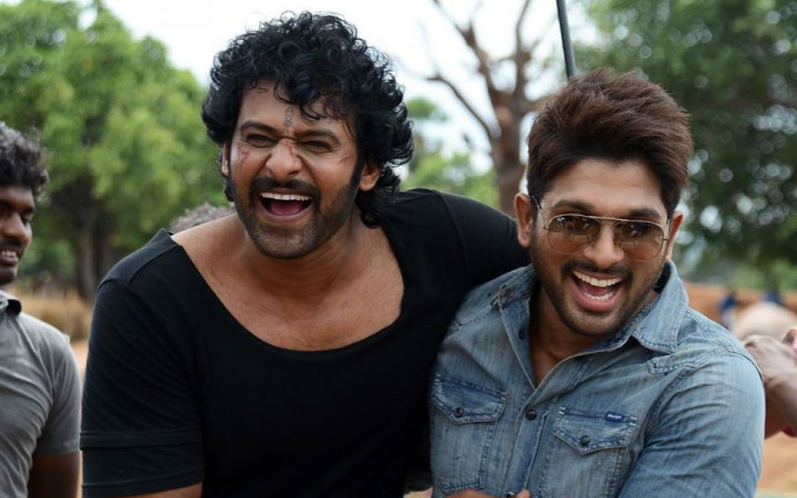 Allu Arjun and Prabhas