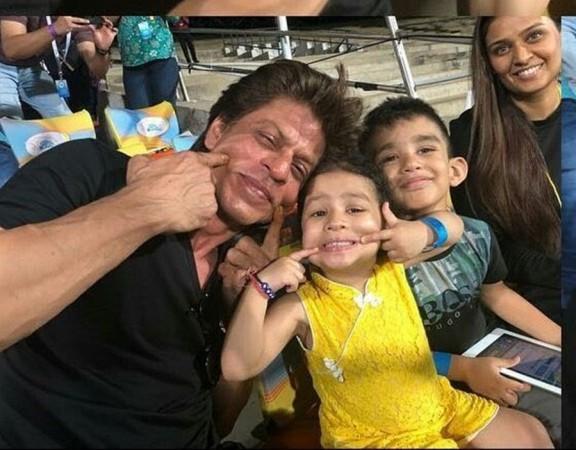 Shah Rukh Khan, Ziva Dhoni