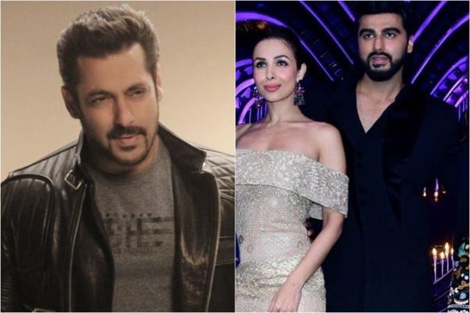Salman Khan, Malaika Arora Khan, Arjun Kapoor