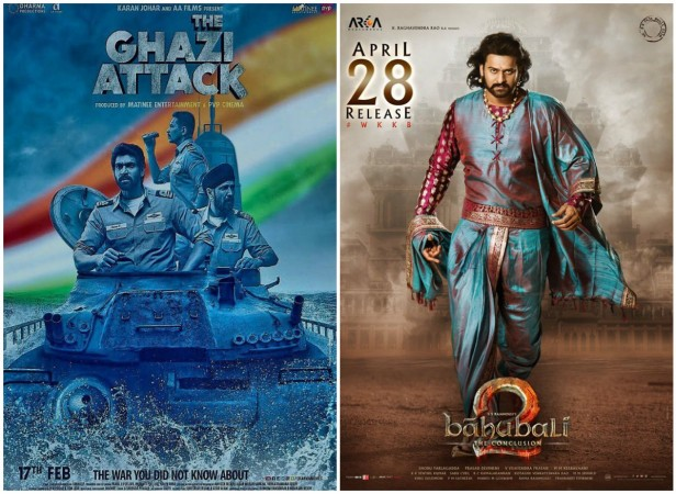 Ghazi Attack and Baahubali 2 bag National Film Awards