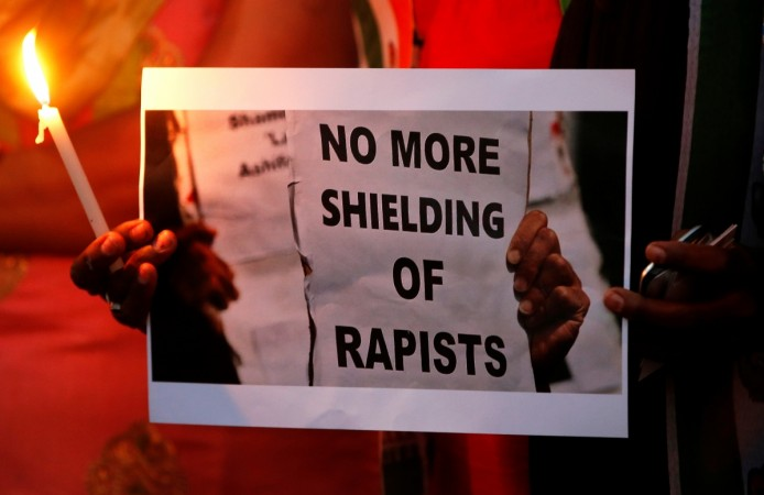 protests against Kathua rape