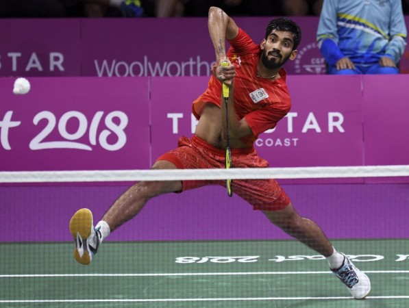 Kidambi Srikanth settles for silver at CWG '18