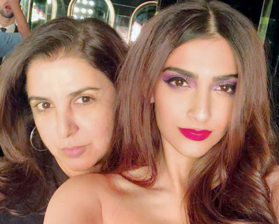 Farah Khan and Sonam Kapoor