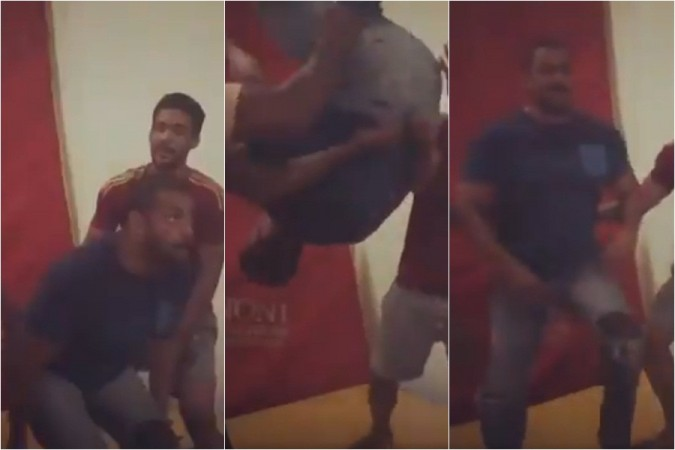 Salman Khan aka Sultan performs a flawless backflip, video goes viral