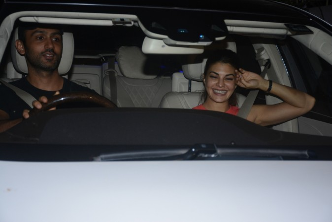 Jacqueline Fernandez spotted with mystery man