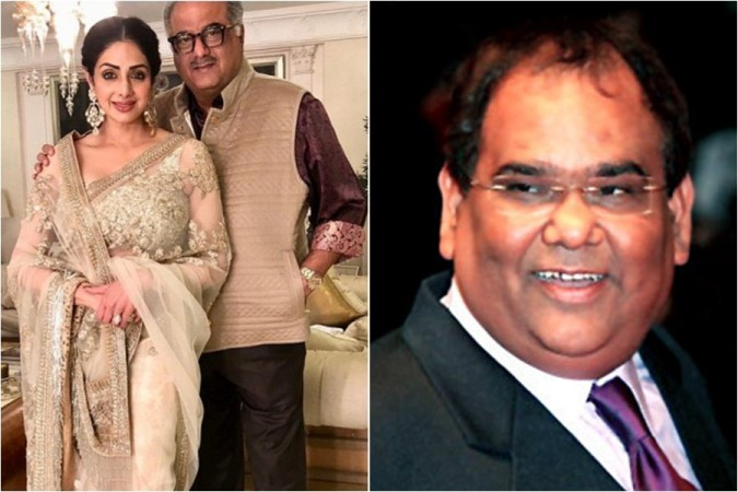 Boney Kapoor, Janhvi and Khushi reach Delhi to receive Sridevi's National Award