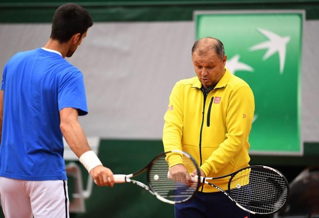 Novak Djokovic Marian Vajda