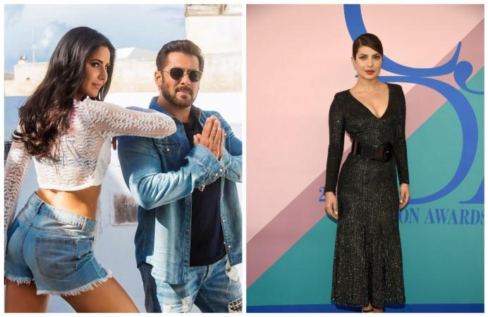 Salman Khan and Priyanka Chopra were once reportedly not in talking terms due to Katrina Kaif