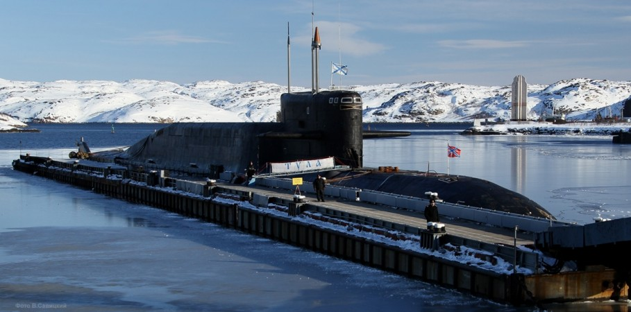 russian navy just fielded a nuclear submarine stocked with