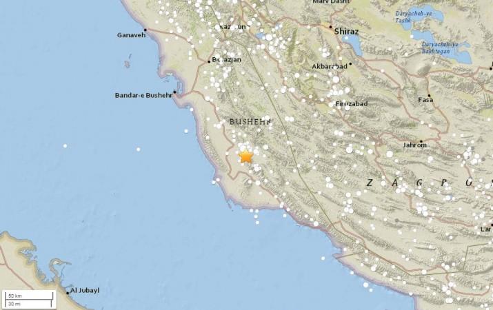 5.9-magnitude quake hits Southern Iran