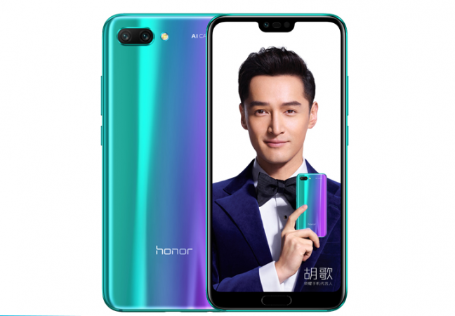 Honor 10 with Ultrasonic Fingerprint Sensor Launched in India at Rs. 32999