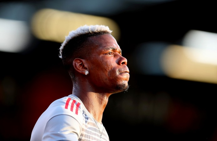 Pogba: I'm happy with Mourinho and United
