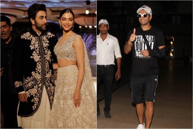Ranbir Kapoor, Deepika Padukone, Ranveer Singh