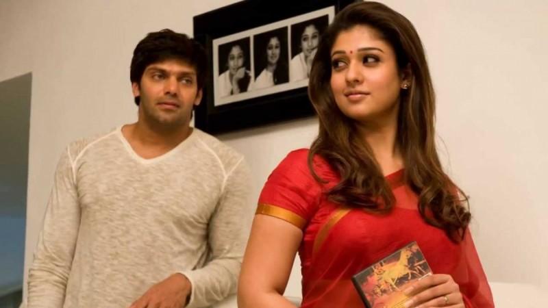 Arya and Nayanthara