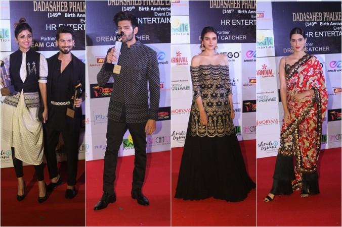 Shahid Kapoor, Shilpa Shetty, Kartik Aaryan, Aditi Rao Hydari, Kriti Sanon