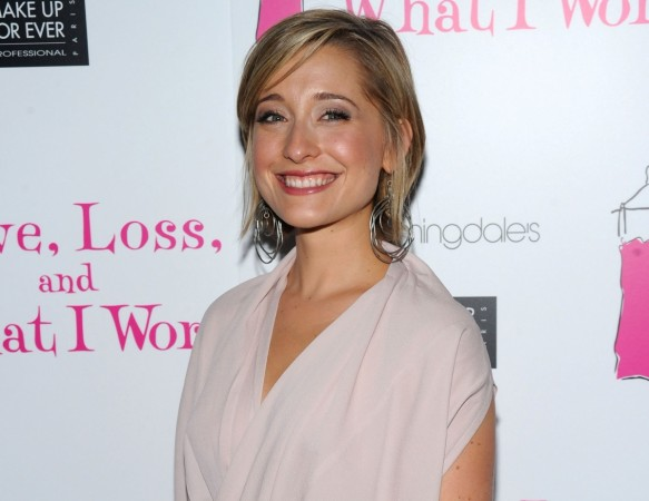 Actress Allison Mack