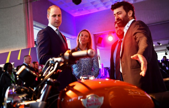 When Prince William fell in love with Royal Enfield Interceptor 650