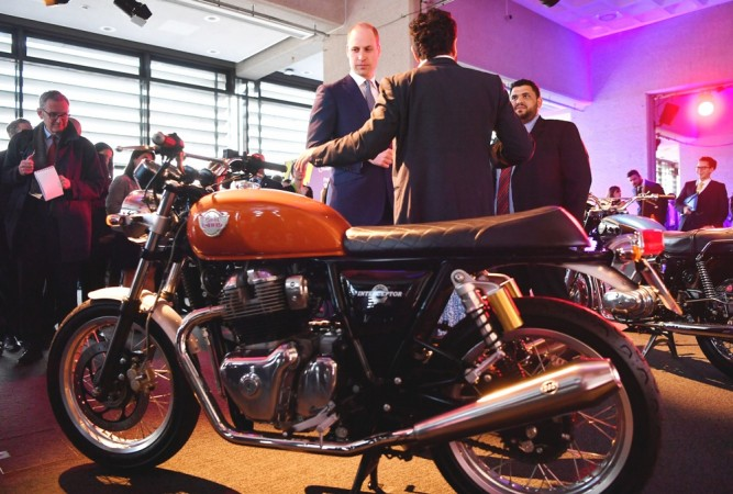 RE Interceptor 650-Prince William's new love?