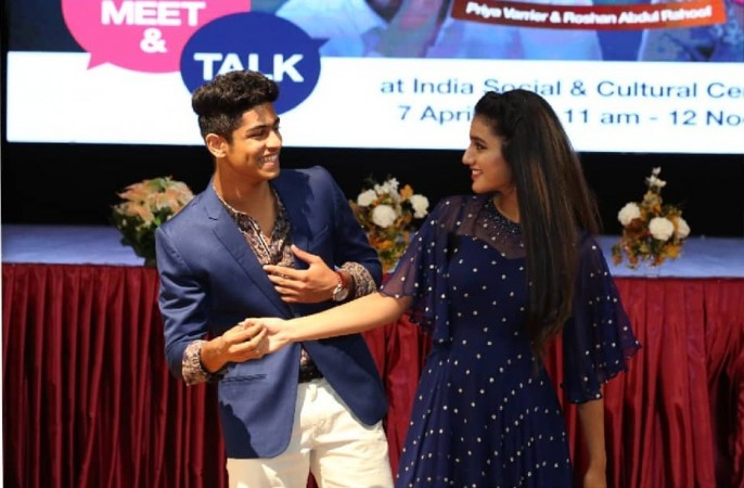 Wink girl Priya Prakash Varrier wishes Roshan, writes 'needn't say anything'